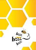 Cooperation,Food,Honeycomb,Bee,Hexagon,Working,Beeswax,White Background,Vibrant Color,Copy Space,Design Element,Nature,Abstract,Sweet Food,Pattern,Yellow,Cut Out,Backgrounds,Teamwork,Paper,Flying,Message,Honey,Cute,Frame,Cartoon