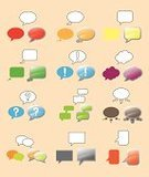 caption,Symbol,icons set,Text Bubble,Dialogue Balloon,Sign,Communication,Speech,Thought Bubble,Computer Icon,Speech Bubble,Discussion,Vector