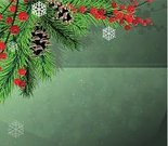 Holly,Evergreen Tree,Vector,Winter,Pine Cone,Snowflake,Twig,Green Color,Winterberry Holly,Decoration,Nature,New Year,Needle,Christmas Tree,Berry Fruit,Garland,Pine Tree,Fir Tree,Holiday,Design,Red,Christmas,Spruce Tree,Christmas Ornament,Ornate,Celebration,Ilustration,Symbol,Wreath,Cultures,Backgrounds,Image,Branch,Season,Plant,Christmas Decoration