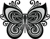 Butterfly - Insect,Knick Knack,Ornate,Symbol,Pattern,Black And White,White,Fragility,Black Color,Elegance,Animal,Decoration,Wing,Abstract,Design Element,Art,Design,Backgrounds,Computer Graphic,Curve,Remote,Nature,Shape,Tattoo,Insect,Decor,Silhouette,Retro Revival,Vector,Style,Ilustration,Single Object,Beauty In Nature,Painted Image,Scroll Shape