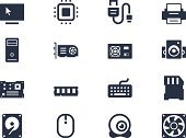 Computer Icon,Symbol,Hard Drive,Network Server,Computer Chip,Electrical Component,Electrical Equipment,Electronics Industry,Random Access Memory,Computer Cable,Computer Keyboard,Switch,Electric Fan,Computer Part,Cable,USB Cable,Computer Peripheral,Vector,Stick - Plant Part,Video Conference Camera,Cooler,Communication,Desktop PC,Technology,graphic card,Computer Monitor,Computer Mouse,Design,Mother Board,Disk,Computer,Computer Network,Disk,processor,CPU,Equipment,Set,PC,Computer Printer,Silhouette