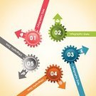 Technology,Teamwork,Gear,Computer Graphic,Arrow,Art Product,Single Object,Interface Icons,Design,Symbol,Number,Ilustration,Wheel,Sign,Brochure,Infographic,Set,Blue,Green Color,Concepts,Circle,Pink Color,Plan