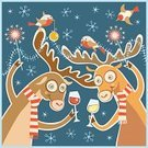 Christmas,Fun,Humor,Reindeer,Holiday,Retro Revival,Pattern,Party - Social Event,Old-fashioned,Glass,Wine,Nightlife,Invitation,Cartoon,Greeting Card,Smiley Face,Greeting,Cute,Cheerful,Animal,Snowflake,Bengal Light,Winter,Computer Graphic,Bird,Clip Art,Cup,Ornate,Celebration,Deer,Smiling,Alcohol,Champagne,Color Image,Vector,Characters,New Year,Design Element,Celebratory Toast,Decoration,Ilustration,template,Sparkler,Snow