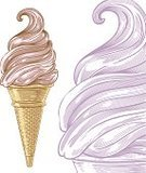 Ice Cream,Woodcut,Ilustration,Soft Serve Ice Cream,Softness,Old-fashioned,Engraved Image,Cream,Ice,Etching,Tasting,Vector,Raspberry Ice Cream,Style,Wafer,Mulberry,Cherry Ice Cream,Pink Color,Blueberry,Old- Fashioned,Computer Graphic,Dessert,Blueberry Ice Cream,Retro Revival,Sweet Food,Ice Cream Cone,Gourmet,Frozen,Raspberry,Strawberry,Strawberry Ice Cream,Isolated,Cold - Termperature,Summer,Design,Soft Ice Cream,Smooth