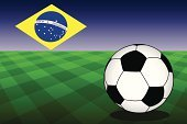 2014,Playing Field,Flag,next year,Brazil,Soccer,Football,Playing,Competition