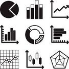 Flowing,Data,Finance,Sign,Symbol,Infographic,Business,Chart,Graph,Vector,Ilustration,Diagram,Curve,Growth