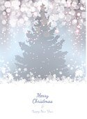 Holiday,Greeting Card,Lighting Equipment,Snow,Winter,Happiness,Cheerful,Light - Natural Phenomenon,Shiny,Christmas,White,Backdrop,Silver Colored,Backgrounds,Night,Vector,Beautiful,Tree,Miracle,Beauty In Nature,Year,Fir Tree,Silhouette,Blue,Nature,New,Cultures,Pastel Colored,Ilustration,Decoration,Computer Graphic,Abstract,Christmas Decoration,December,Celebration,Glowing,Design,Gray,Snowflake,Eps10,Ornate,Season,Humor
