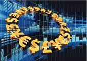 Currency Exchange,Exchange Rate,Global,Currency,Global Communications,Global Business,Stock Exchange,Euro Symbol,Analyzing,Diagram,Trading,Crisis,Financial Figures,Finance,Ideas,Dollar Sign Key,Currency Symbol,Business,Technology,Data,Concepts,Futuristic,Dollar Sign,Pound Symbol,Yen Sign