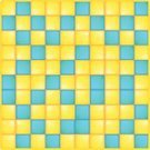 Blue,Pattern,Empty,Square,Yellow,Backgrounds,Vector,No People,Ilustration,Tile,Vibrant Color