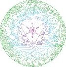 Earth,Circle,Water,Design Element,Air,Spirituality,Creativity,Abstract,The Four Elements,Weather,Meditating,Concentration,Mandala