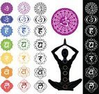Chakra,Symbol,Reiki,Lotus Position,Buddha,Yoga,muladhara,kundalini,Spirituality,Om Symbol,Aura,Computer Icon,Healthy Lifestyle,Meditating,Illustrations And Vector Art,Hinduism,Buddhism,Swadhisthana,manipura,anahata,India,ajna,Relaxation,Harmony,Religion,Medicine And Science,Black Color,People,Vishuddha,sahasrara,Mantra,Rainbow,Concepts And Ideas