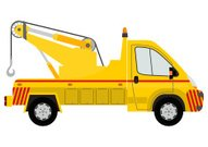 Tow Truck,Car,Help,Vector,Special,Silhouette,Tow Car,Assistance,Siren,Isolated,Urgency,Truck,Service,Emergency Services,Cartoon,Pick-up Truck