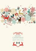 Christmas,Invitation,Christmas Decoration,Retro Revival,New Year's Eve,Deer,Old-fashioned,Christmas Card,Christmas Ornament,Holiday,New Year's Day,New Year,Backgrounds,Ilustration,Vector,Greeting Card,Reindeer,Seamless,Modern,Animal,Greeting,Bell,Decoration,Love,Pattern,Abstract,Event,Gift,Composition,Celebration,Text,Ornate,Wallpaper,Fashionable,Ice,Backdrop,Computer Graphic,Wrapping Paper,Card Design