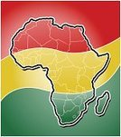 Africa,Map,continent,Cartography,Backgrounds,Vector,Green Color,Africa Map,Land,Ilustration,Gold Colored,Red,Color Image,Computer Graphic,Travel Locations,African Flag,Illustrations And Vector Art,Yellow,Physical Geography,vector map
