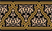 Arabic Style,Frame,Decoration,Seamless,Cultures,Multi Colored,Ilustration,Ornate,Pattern