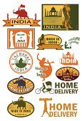 India,Label,Famous Place,Taj Mahal,Rickshaw,Travel,Asia,Sign,Travel Destinations,Elephant,Painted Image,Rubber Stamp,Ilustration,Camel,Creativity,Delivering,buddha statue,Image,Icon Set,wood texture,Tourism,Posing,Symbol,Computer Graphic,Ink,Architecture,Abstract,Print,Vacations,Isolated,Art Product,Making,Cow,Old-fashioned,Snake,Design