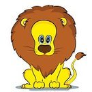 Lion - Feline,Animal,Carnivore,Wildlife,Yellow,Ilustration,Mane,Vector