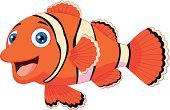 Clown Fish,Anemonefish,Cartoon,Animal Fin,Cheerful,Fish,Sea,golden fish,Orange Color,Happiness,Swimming Animal,Ilustration,Cute,Smiling,Aquatic,Fun,Humor,Toy,Sea Life,Pets,Vector,Young Animal,Mascot,Posing,Characters,Animals In The Wild,Animal,Clown,Looking At Camera,Friendship,Sea Life Centre