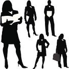 Silhouette,Women,Business,Businesswoman,Reading,Business Person,Professional Occupation,Book,Confidence,Expertise,Briefcase,Female,Hand On Hip,Attitude,Group Of People,Occupation,Posing,Vector,Success,Paper,Adult,High Heels,Suit,Tracing,Skirt,Computer Graphic,Ilustration,Shirt,Looking At Camera,Fashion,handcarves,Business People,Business,odltimer,Beauty And Health,Clip Art