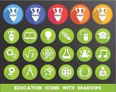 Icon Set,Education,Technology,Engineering,Mathematical Symbol,Science,Flat,Symbol,Chemistry,Chemistry Class,Physics,Vector,Art,University,Design,Light Bulb,Writing,Art and Craft Equipment,Music,Drawing Compass,Pen,resource,Textbook,Ideas,Modern,Planet - Space,Nature,Inspiration,Three-dimensional Shape,Creativity,Isolated,Musical Note,Success,Mortar Board,World Map,Literature,Earth,Plant,Paint,Study,Laurel Wreath,Book,Electrical Equipment,Pencil,Fashion,Graduation,Pattern,Photographic Effects,Studying,Black Color,Elegance,Text,Going Back To School,Correspondence,Shadow
