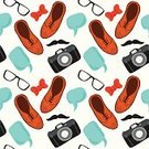 Shoe,Men,Ilustration,Youth Culture,Fashion,Photograph,Set,Design Element,Seamless,Collection,Design,Camera - Photographic Equipment,Personal Accessory,Bow,Looking,Backgrounds,Blue,Old-fashioned,Computer Graphic,Drawing - Activity,Young Adult,Symbol,Speech,Orange Color,Style,Clothing,Hipster,Eyeglasses,Data,Pattern,Bubble,Fashionable,City Life,Black Color,Modern,Beautiful,Retro Revival,Vector,Funky,Mustache