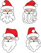 Christmas,New Year's Eve,New Year,Santa Claus,Christmas Decoration,Vector,Holiday,New Year's Day