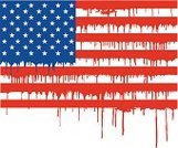 American Flag,Flag,Blood,Drop,Paint,Vector,Grunge,Violence,Symbol,Illustrations And Vector Art,Objects/Equipment,Concepts,Ilustration,Ideas