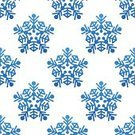 Snowflake,Christmas,Seamless,Winter,Pattern,Backgrounds,Blue,Vector