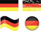 vector icons,waveform,Flag,Icon Set,Set,Illustrations And Vector Art,Travel Locations,National Flag,Germany,Collection,Ilustration,German Flag,Computer Icon,Circle,Rectangle,Vector