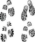 Footprint,Walking,Boot,Track,Dirt Road,Print,Shoe,Mud,Human Foot,Sketch,Steps,Silhouette,Dirty,Imitation,Ink,Vector,Outline,Tracing,Black Color,Outdoors,Isolated,Design,Pair,Ilustration,Macro,Backgrounds