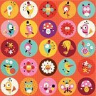Edible Mushroom,Smiling,Flower,Animal,Butterfly - Insect,Wallpaper Pattern,Bird,Symbol,Mushroom,Nature,Striped,Set,Wallpaper,Collage,Paper,Floral Pattern,Ilustration,Springtime,Cute,Badge,Cartoon,Ornate,Vector,Label,Humor,Fun,Circle,Simplicity,Season,Design,Pattern,Snail,Summer,Lined Paper,Owl,kawaii,Textile,1940-1980 Retro-Styled Imagery,Retro Revival,Vibrant Color,Backgrounds,Seamless,Multi Colored,Characters