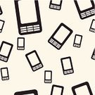 Mobile Phone,Design,Equipment,Portable Information Device,Black Color,Communication,Ilustration,Computer Graphic,Backgrounds,Connection,Cell