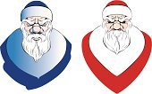 Vector,Holiday,Ilustration,Cartoon,Characters,Fashion,Design,Design Professional,Animated Cartoon,Art,Paintings,White,Red,Image,Silhouette,Hat,Backgrounds,Adult,Painting,Santa Claus,Christmas