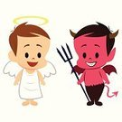 Heaven,Hell,Child,Rudeness,Angel,Devil,Human Face,Aura,Baby,Demon,Emoticon,Evil,Love,Romance,Morality,Saint,Toddler,Vector,Fire - Natural Phenomenon,Vitality,Loving,Choice,Red,Shadow,Bat - Animal,Religion,Tail,Smiling,People,Spirituality,Computer Icon,Seven Deadly Sins,Ghost,Afterlife,Valentine's Day - Holiday,Cute,Wing,Symbol,Temptation,Ilustration,Anger,Heat - Temperature,Affectionate,Contrasts,Positive Emotion,The Human Body,Desire,Innocence,Horned,White