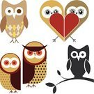 Heart Shape,Pastel Colored,Owl,Animal,Cute,Computer Icon,Flirting,Romance,Cartoon,Multi Colored,Animals And Pets,vector icons,Pattern,Dating,Love,Female Animal,Bird,Silhouette,Set,Illustrations And Vector Art,Back Lit,Couple,Male Animal,Vector,Characters,Ilustration