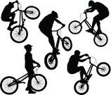 Cycling,Bicycle,Street,Silhouette,BMX Cycling,Sport,Extreme Sports,Teenager,Cyclist,Riding,Action,Wheel,Jumping,Little Boys,Vector,Relaxation,White,Joy,Men,Ilustration,Urban Scene,Isolated,Land Vehicle,Collection,Stunt,Backgrounds,Danger,Cool,Black Color,Lifestyles,extremal,Healthy Lifestyle,Fun,Style,Sports Ramp,Set,Outline,People