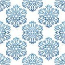 Christmas,New Year's Eve,Seamless,New Year,Snowflake,Pattern,Vector,Holiday,Blue,New Year's Day
