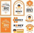 Honey,Bee,Label,Sign,Jar,Spoon,Honeycomb,Computer Icon,Symbol,Insignia,Farm,Computer Graphic,Agriculture,Hexagon,Healthy Eating,Sweet Food,Design Element,Yellow,Organic,Food,Apiculture,Nature,Merchandise,Business,Badge,Design,Orange Color,Premium Quality
