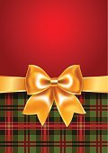 Birthday,Tartan,Gift,Textile,Love,Decoration,Wrapping Paper,Christmas,Checkered Pattern,Ribbon,template,New Year's Eve,Art,Abstract,Invitation,Decor,December,Bow,Wrapped,Backdrop,Celebration,Red Background,Holiday,Congratulating
