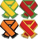 Scarf,Soccer,American Football - Sport,Vector,Basketball - Sport,Sport,Still Life,Wool,Black Color,Spain,Symbol,Country - Geographic Area,Clothing,Green Color,Winter,Netherlands,Fan,Portugal,Brazil,Flag,Personal Accessory,Sports Team,Group of Objects,Red,Yellow,Shawl,Ilustration,Orange Color