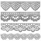 White Background,Cut Out,Ephemera,Backgrounds,Old-fashioned,France,Cut Out,Decoration,Photography,Textile,Pattern,Embroidery,Retro Styled,Illustration,Square,Lace - Textile,Ribbon - Sewing Item,Engraved Image,Fabric Swatch,White Color,Fashion,No People,Crochet
