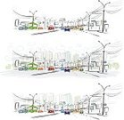 Street,Billboard,Doodle,Business,Architecture,Transportation,Variation,Backgrounds,Urban Skyline,Pollution,Town,Traffic,Outdoors,Abstract,Cityscape,Pencil,Car,Vector,Highway,Downtown District,Ilustration,Outline