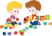 Child,Leisure Games,Playing,Toy,Toy Block,Childhood,Train,Childishness,Kids Game,small boy,kindergartener,Baby,cartoony,Little Boys,childly,kindergartner,Childrens Game,Box Of Bricks,Toddler,Preschooler,Cartoon,Miniature Train,Vector,Brick