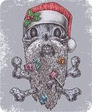Christmas,Horror,Death,Skull and Crossbones,Winter,Cultures,Beard,Flag,Ominous,Ghost,Red,Human Hair,People,DNA,January,Characters,Vector,Micro Organism,Smiling,Santa Claus,December,Cartoon,Pop,Danger,Flavored Ice,Human Bone,Human Skull,Berry,Human Head,Pirate,Toxic Substance,Holiday,Evil,Ilustration,Warning Sign,Mustache,Painting,Fear,Art,Hat,The Furies,Symbol,Material,Candy,Cute