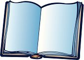 Education,Book,open book,Cut Out,Blank,Page,Copy Space,Single Object,No People