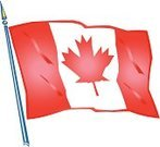 Red Maple,Canadian Flag,Cut Out,Patriotism,Single Object,No People
