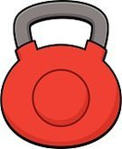 Kettle Bell,Ilustration,Exercise Equipment,Relaxation Exercise,Cast Iron,Heavy,Vector,No People,Cartoon,Weight Training,Sports Equipment,sports and fitness,Weights,Equipment,Red,Sport,Russian Culture