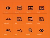 Surveillance,Human Eye,Looking At View,Desktop PC,Computer Monitor,Data,Residential District,Private,UI,Laptop,Ilustration,Business,Symbol,Bar Code Reader,Application Software,Showing,Analyzing,Looking,Watching,Computer Icon,Control,Concepts,Retail Display,Contemplation,Isolated,Searching,Magnifying Glass,Orange Color,Design,Security,Sign,Internet,Camouflage,Application Form,Peeking,Set,Connection,Digital Display,Single Object,Secrecy,Vector,Computer,Screen,Protection,Computer Graphic,Flat