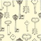 Key,Backgrounds,Ornate,Art,Computer Graphic,Christmas Ornament,Repetition,Old,Seamless,Classic,Silhouette,Beige,Victorian Style,Ilustration,Pattern,Design Element,Victorian Architecture,Wallpaper Pattern,1940-1980 Retro-Styled Imagery,Retro Revival,Abstract,Antique,Vector,Gold Colored