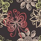 Pattern,Scrapbook,Retro Revival,Dragonfly,Seamless,Floral Pattern,Fabric Swatch,Calligraphy,Doodle,Ornate,Color Image,Abstract,Flower,Style,Wallpaper Pattern,Design,Swirl,Repetition,Elegance,Art,Painted Image,Backgrounds,Curled Up,Textile,Cultures,Cards,Decoration,Swatch,Deco,Scroll Shape,Ilustration,Series,Vector,Invitation,Color Gradient